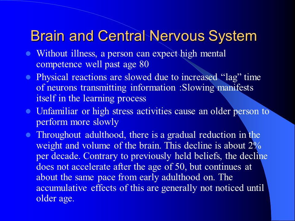 Brain and Central Nervous System