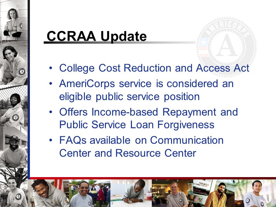 CCRAA Update College Cost Reduction and Access Act