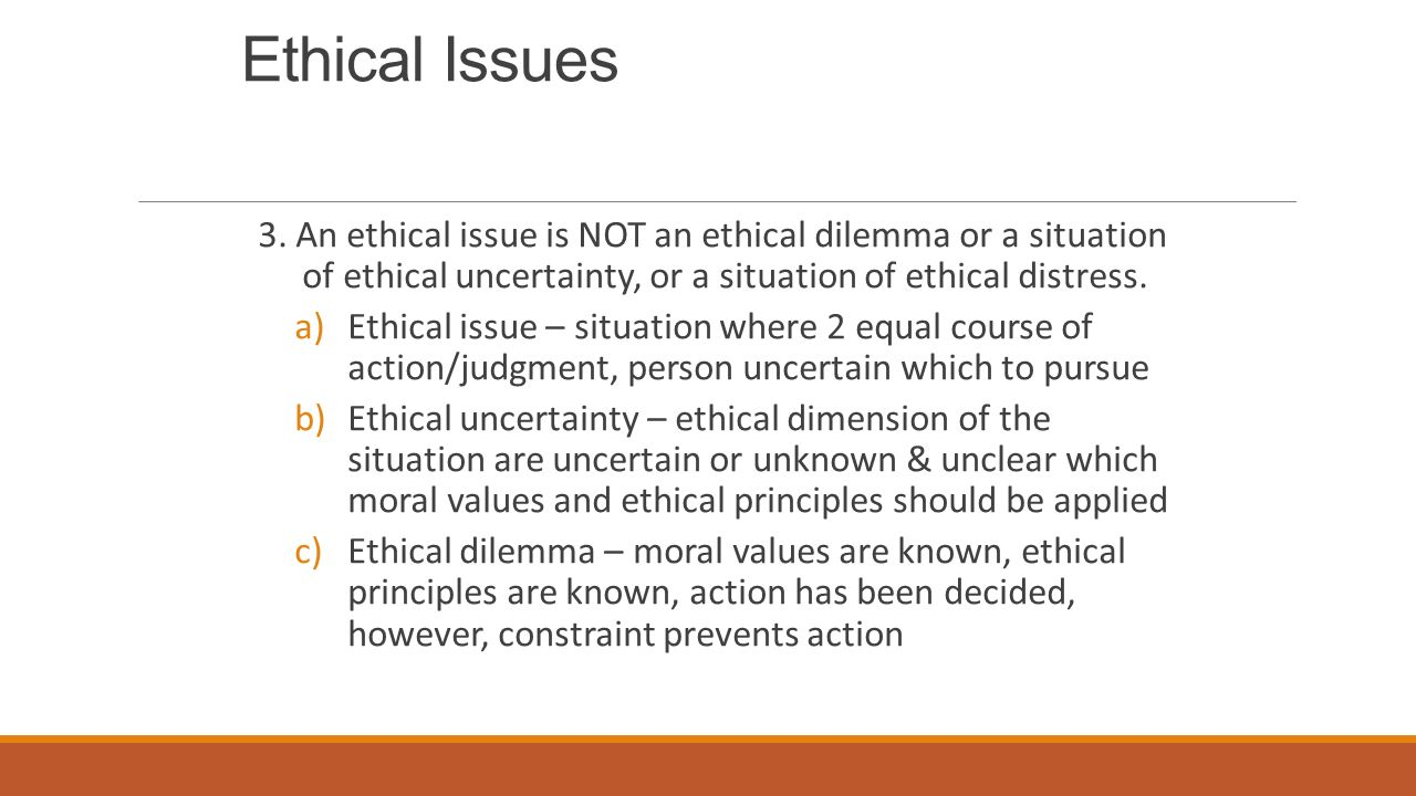 community nursing issues Transcript of ethics and health in community health nursing the most important ethical issues related to nonmaleficence and prolonging the life include.