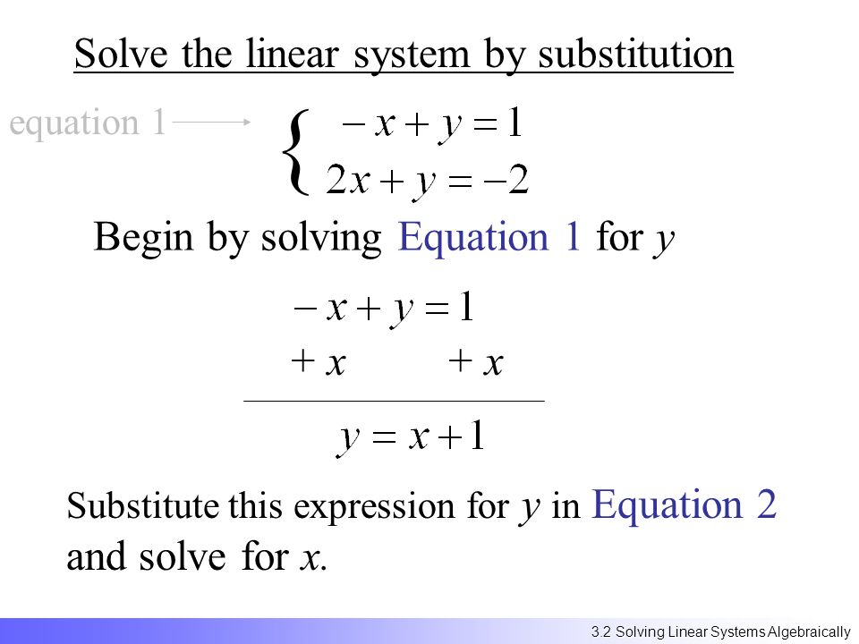 Solving Linear Systems by graphing ppt video online download – Solving Linear Systems by Substitution Worksheet
