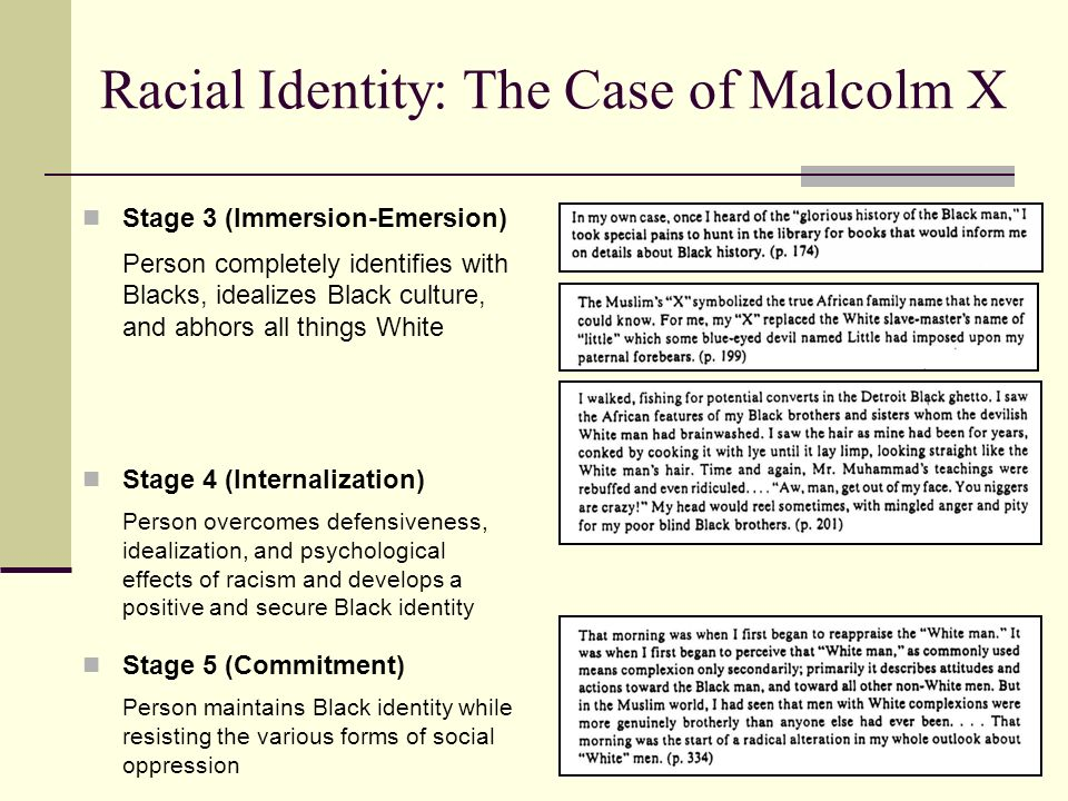 white racial identity essay Introduction of racial identity models focused on white persons (eg,  as the  theoretical assumptions of white racial identity theory have.