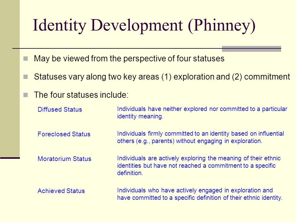 Phinney Ethnic Identity Development 17