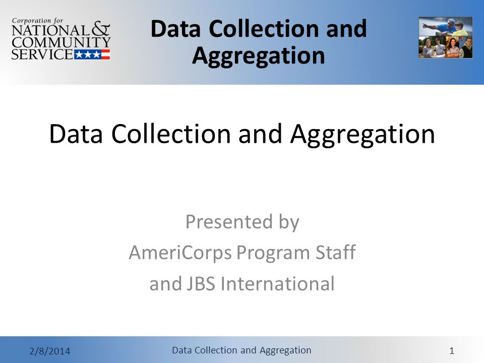 Data Collection and Aggregation