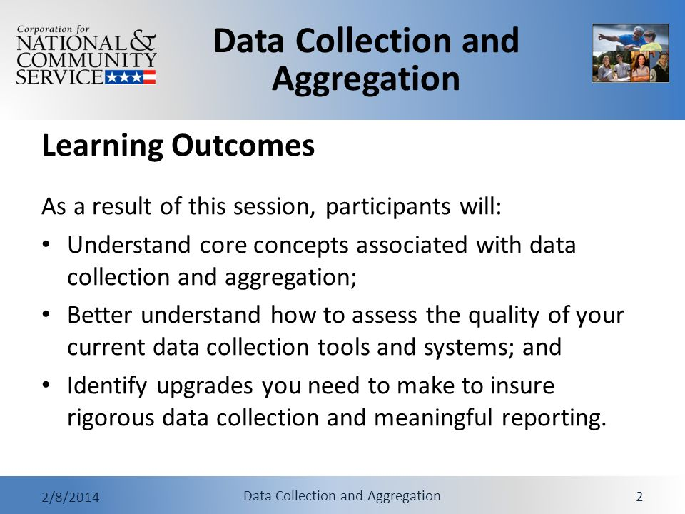 Learning Outcomes As a result of this session, participants will: