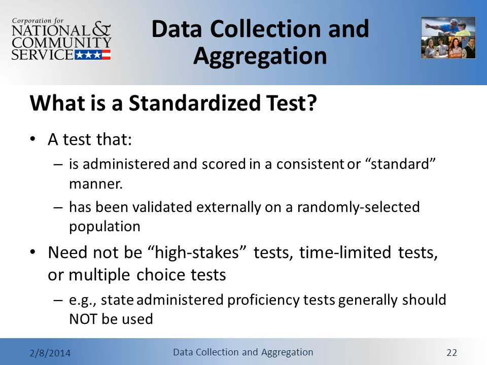 What is a Standardized Test