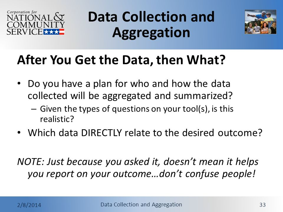 After You Get the Data, then What