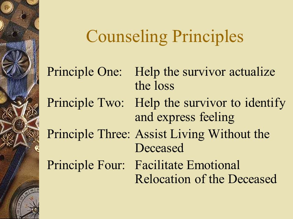 Counseling Principles