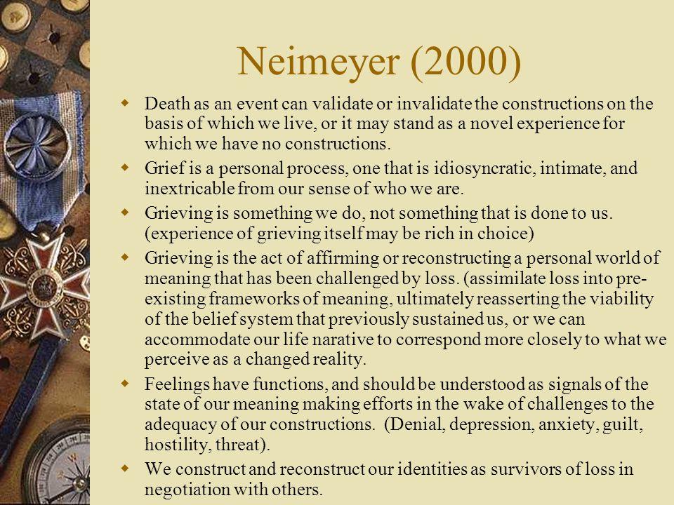 Neimeyer (2000)