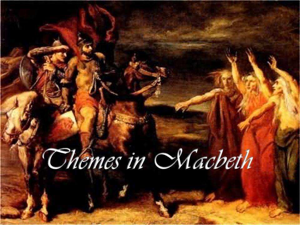 the theme of macbeths ambition in shakespeares play macbeth In macbeth , william shakespeare's tragedy about power, ambition, deceit, and  explore the different symbols within william shakespeare's tragic play, macbeth.