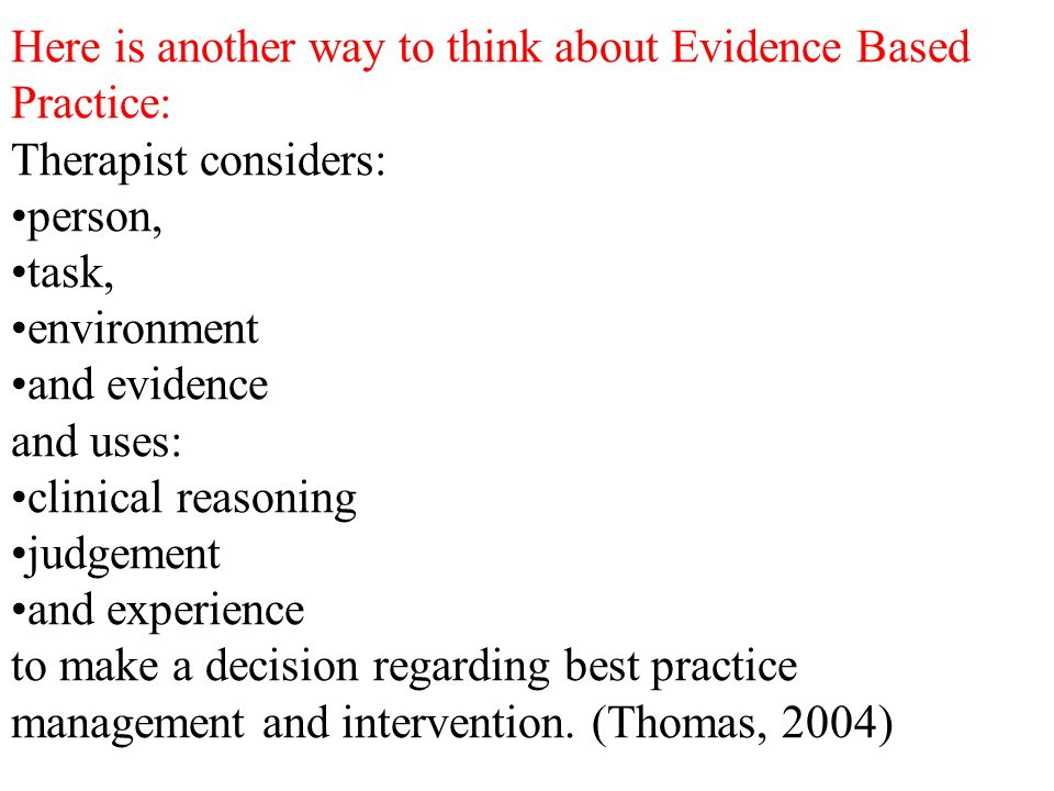 evidence based practice task 3 Evidence-based practice is the integration of the best available research with clinical expertise in the context of patient characteristics, culture and preferences the apa council of representatives adopted a policy statement on evidence-based practice in psychology at their august 2005 meeting.