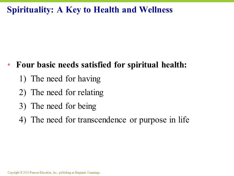 Spirituality: A Key to Health and Wellness