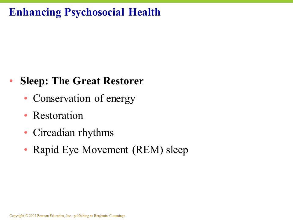 Enhancing Psychosocial Health