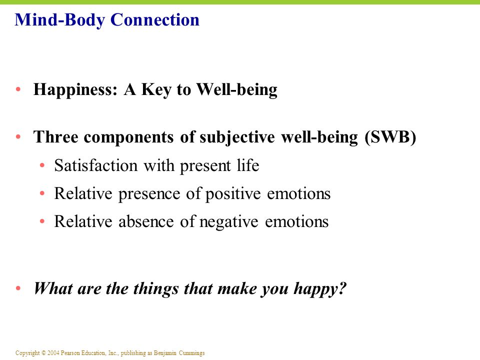 Mind-Body Connection Happiness: A Key to Well-being