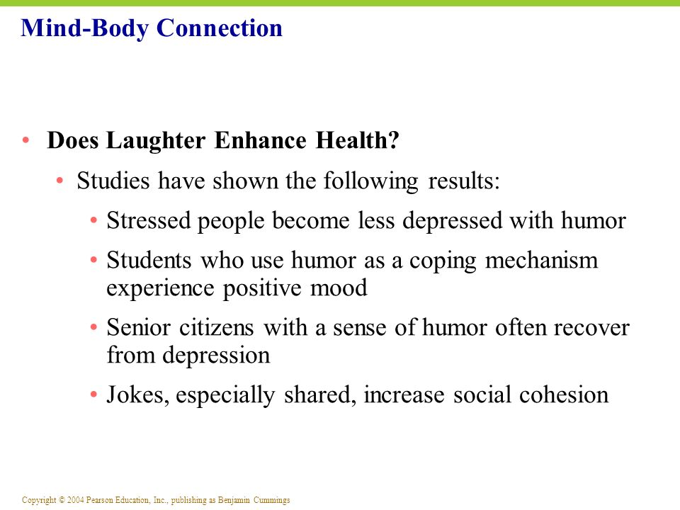 Mind-Body Connection Does Laughter Enhance Health