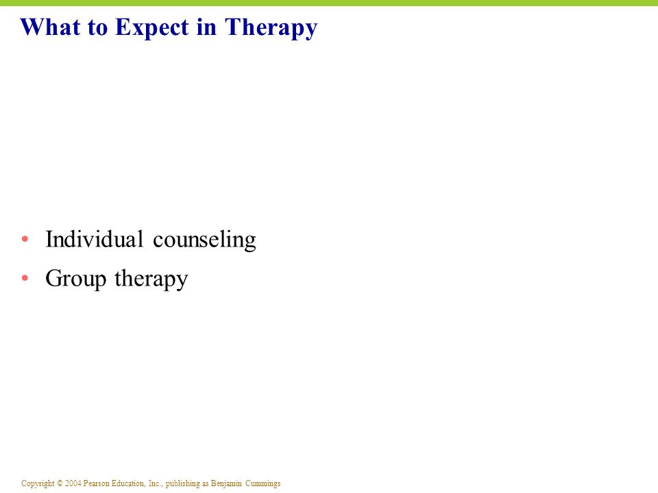 What to Expect in Therapy