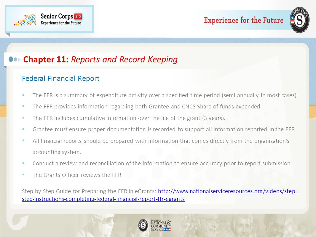 Chapter 11: Reports and Record Keeping