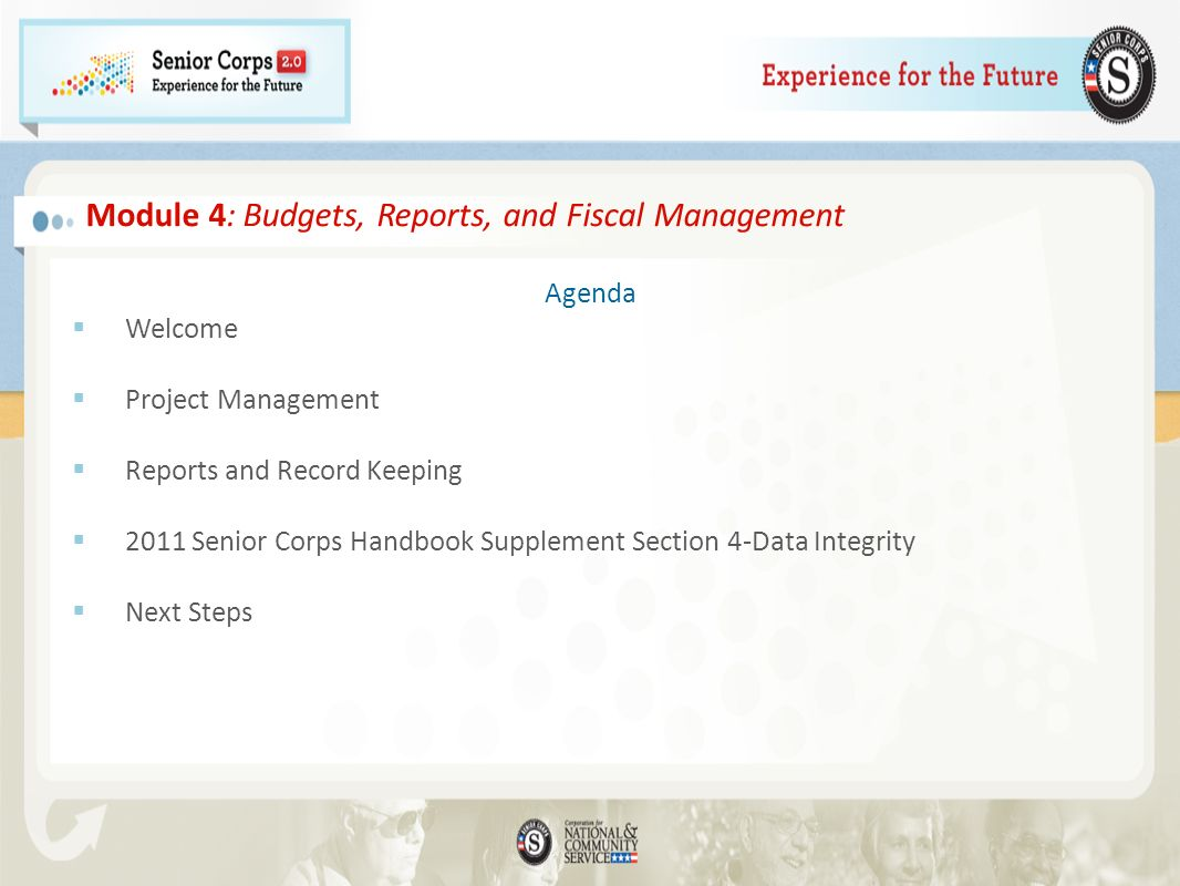 Module 4: Budgets, Reports, and Fiscal Management