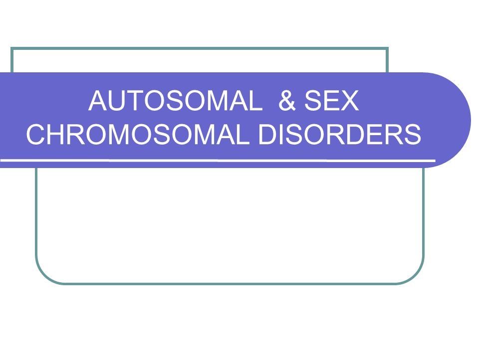 Sex chromosomal abnormality hermaphrodite