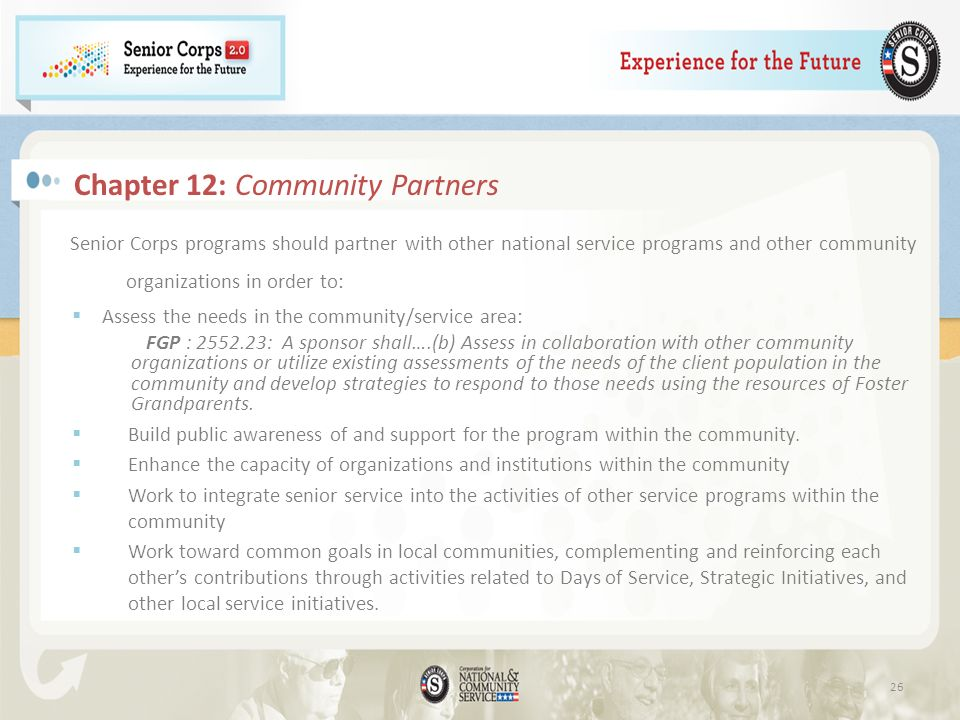 Chapter 12: Community Partners