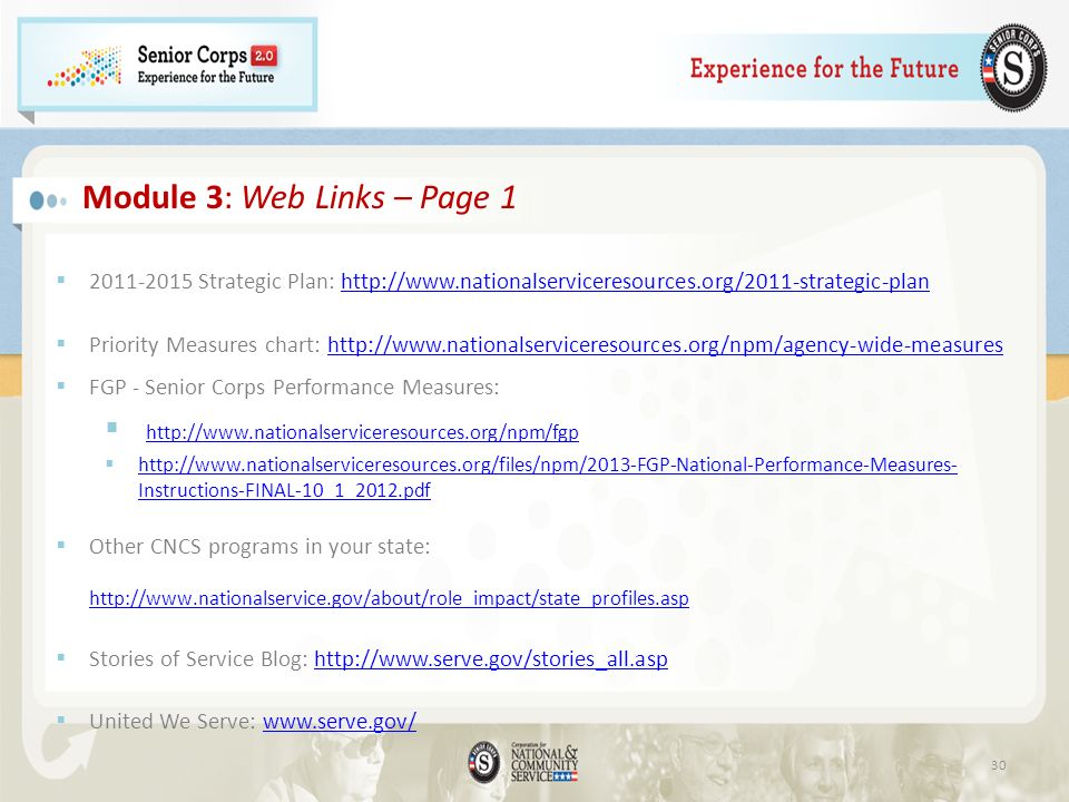 Module 3: Web Links – Page 1