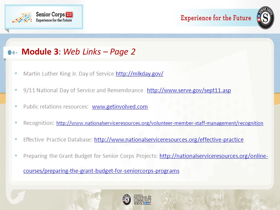 Module 3: Web Links – Page 2