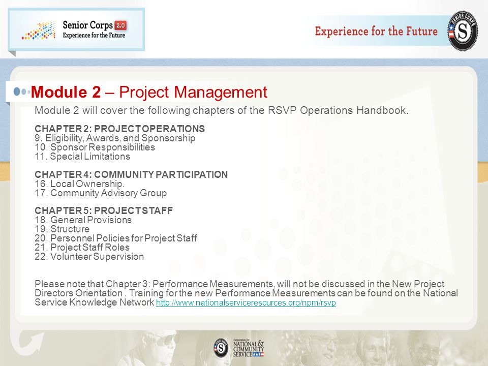 Module 2 – Project Management