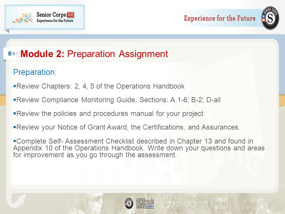 Module 2: Preparation Assignment