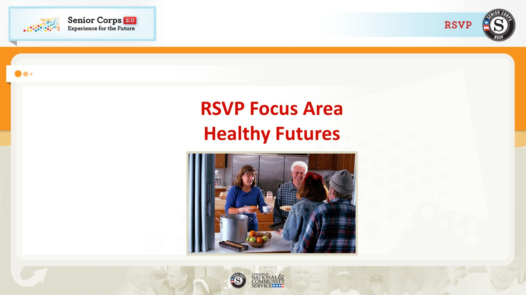 RSVP Focus Area Healthy Futures