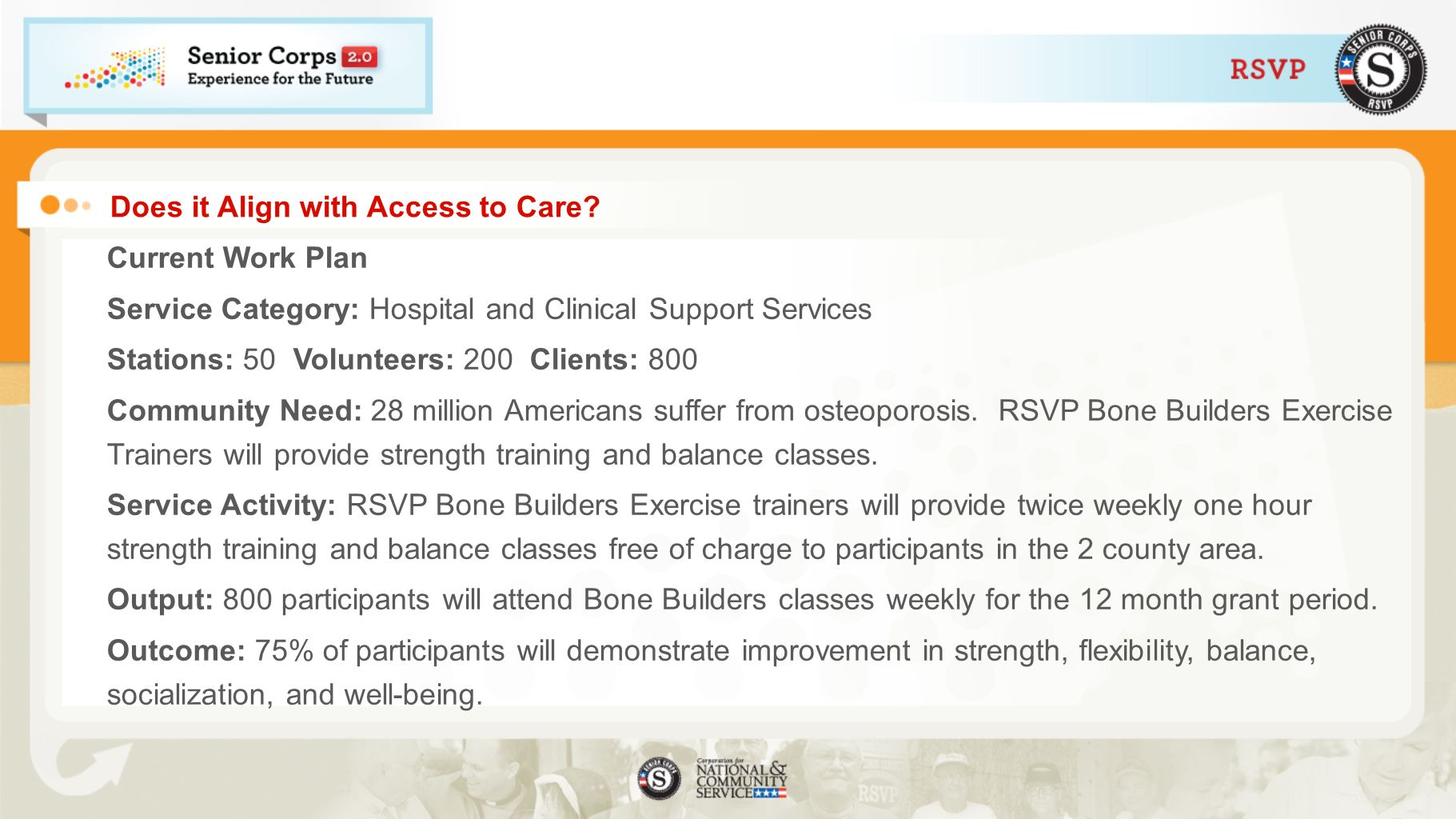 Does it Align with Access to Care