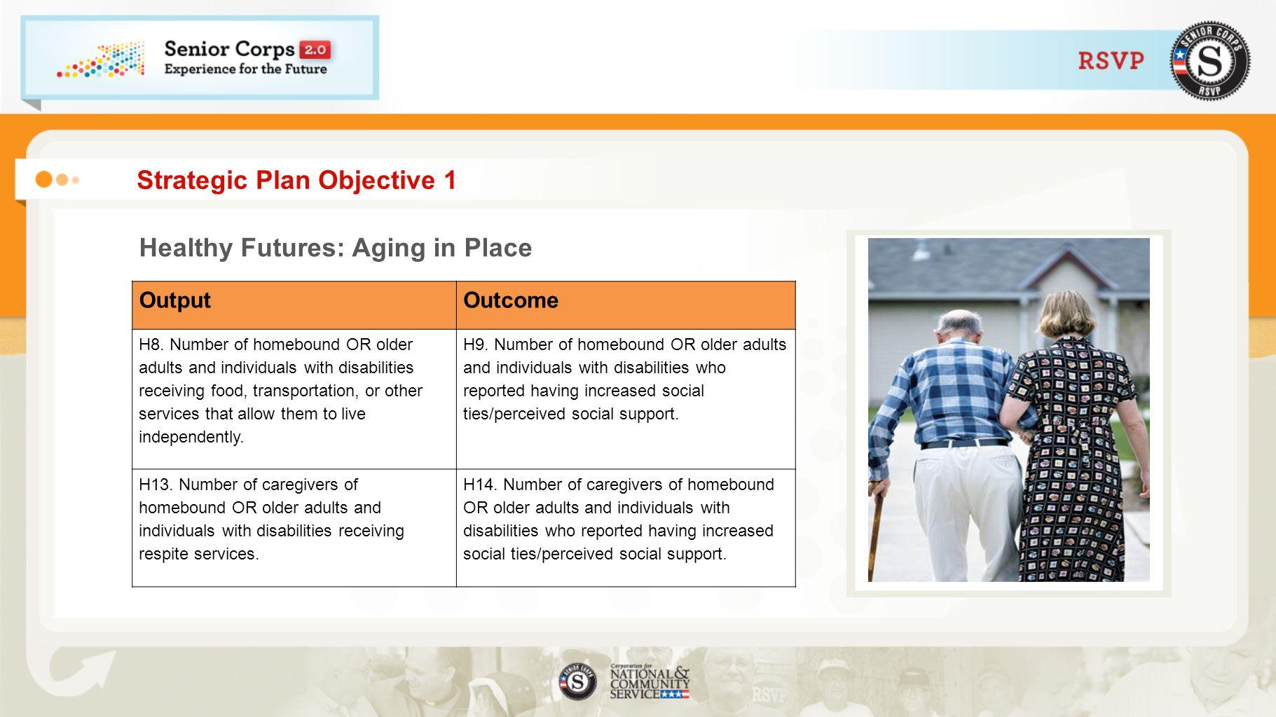 Strategic Plan Objective 1