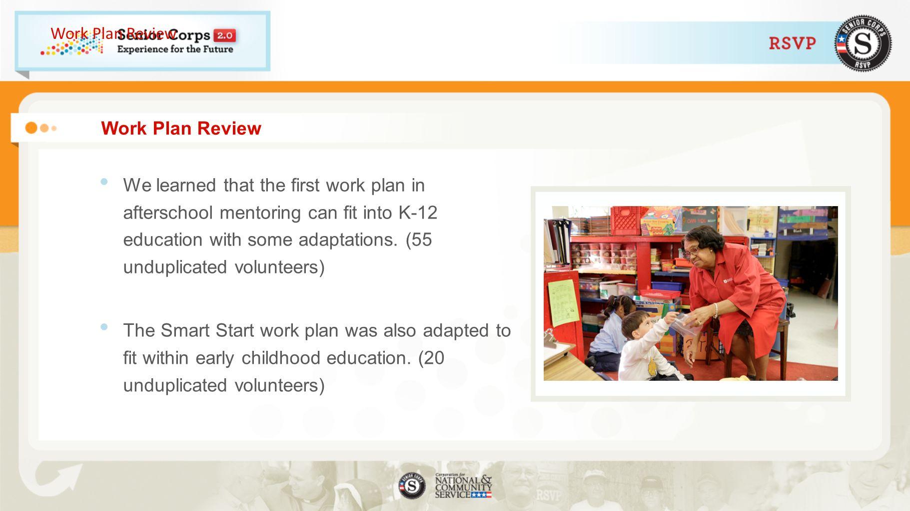 Work Plan Review Work Plan Review.