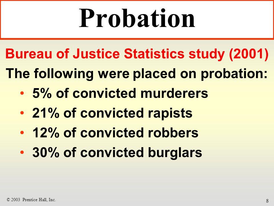 Probation parole and community corrections ppt download for Bureau justice statistics