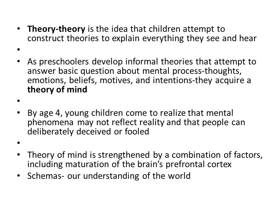 theoretical reflections of the virtual child My virtual child.