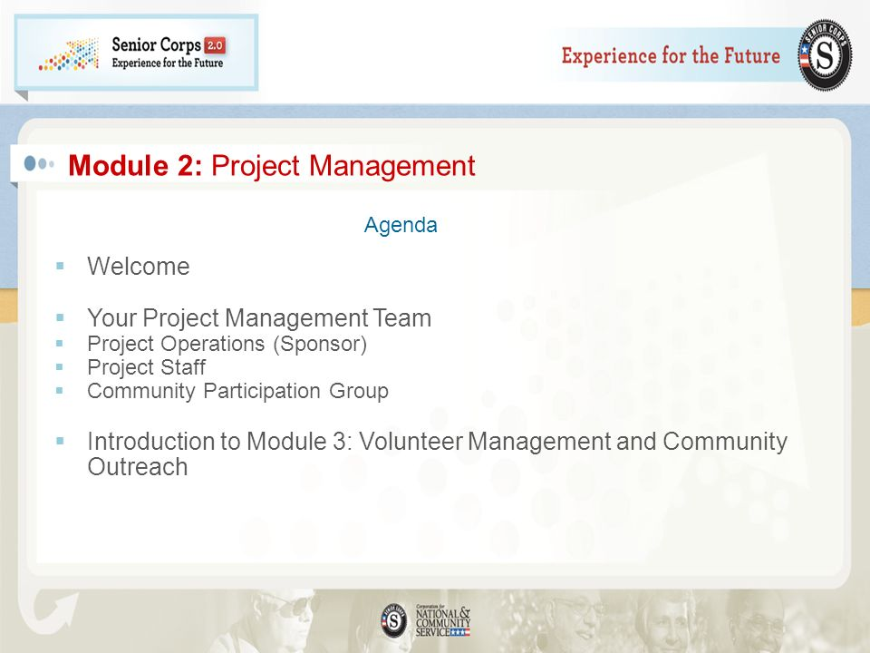 Module 2: Project Management