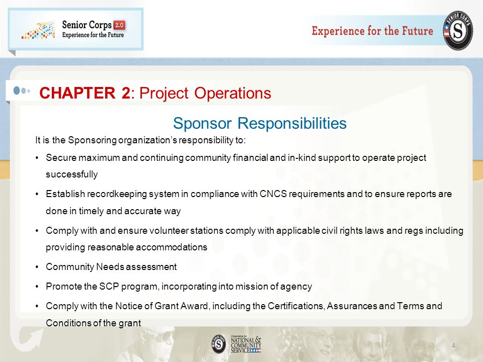 CHAPTER 2: Project Operations