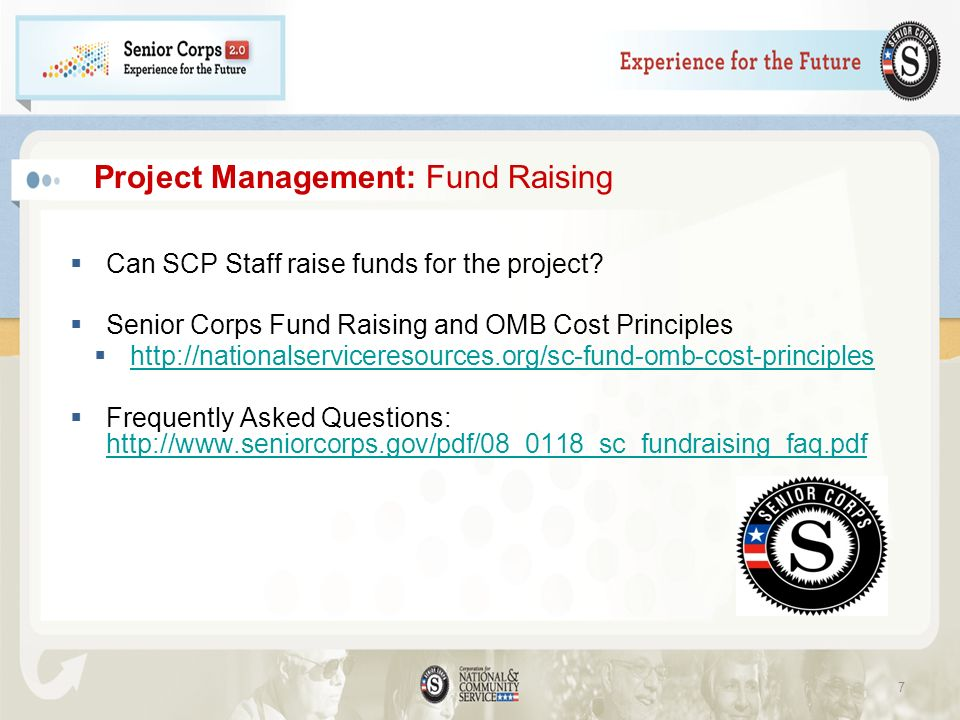 Project Management: Fund Raising