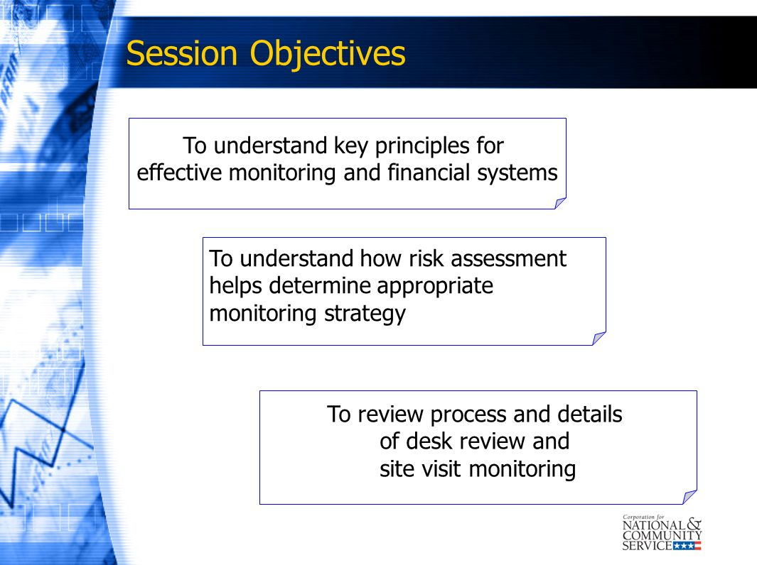 Session Objectives To understand key principles for