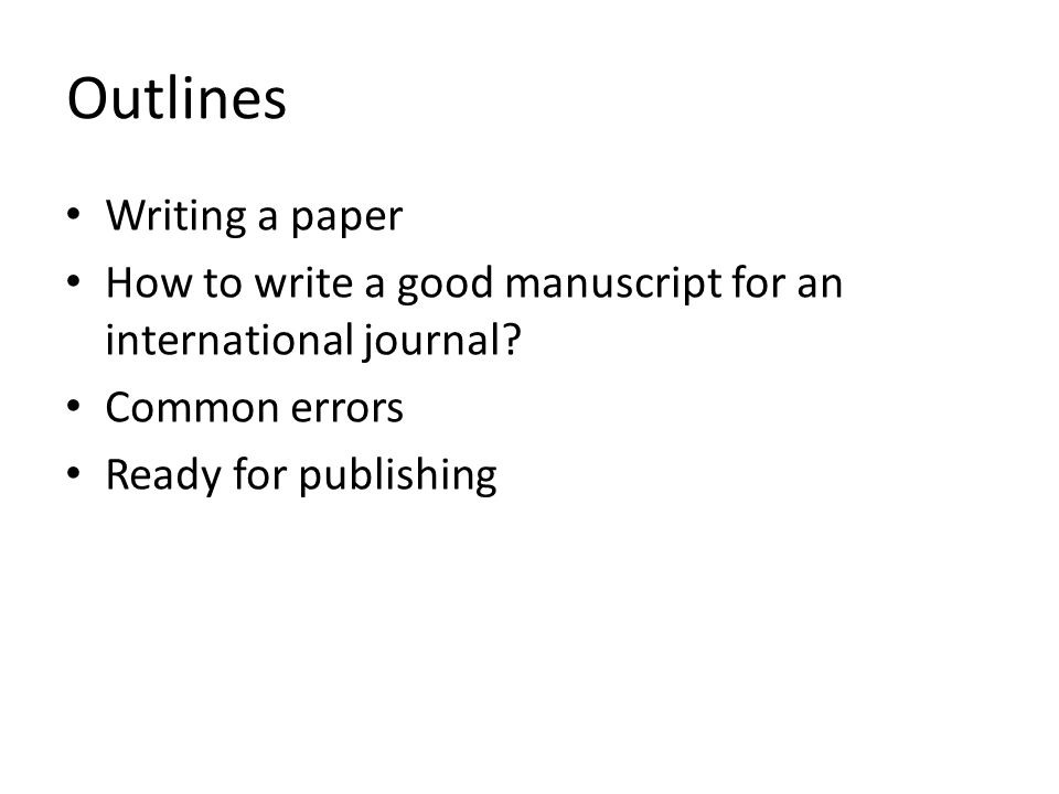 how to write a simple research paper Ii writing style use the active voice when possible, but note that much of your abstract may require passive sentence constructions regardless, write your abstract using.