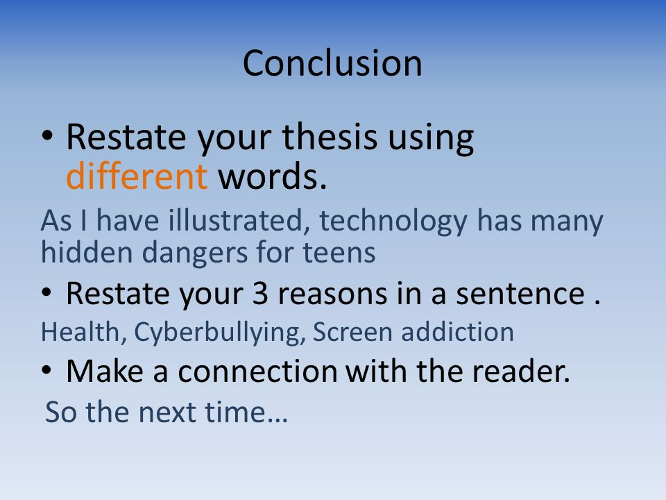 "good words use thesis statement Words and phrases for demonstrating  this section covers words you can use instead of the ""but"" in these  all i needed was a good source of words,."