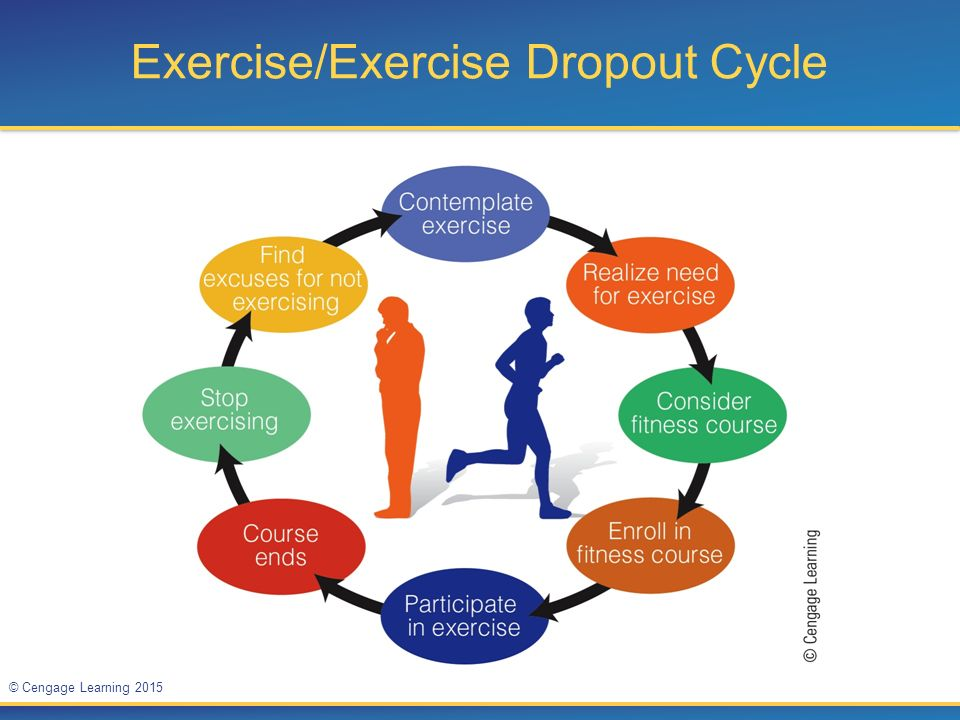 Exercise/Exercise Dropout Cycle