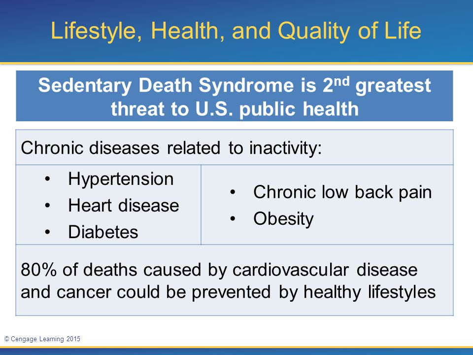 Lifestyle, Health, and Quality of Life