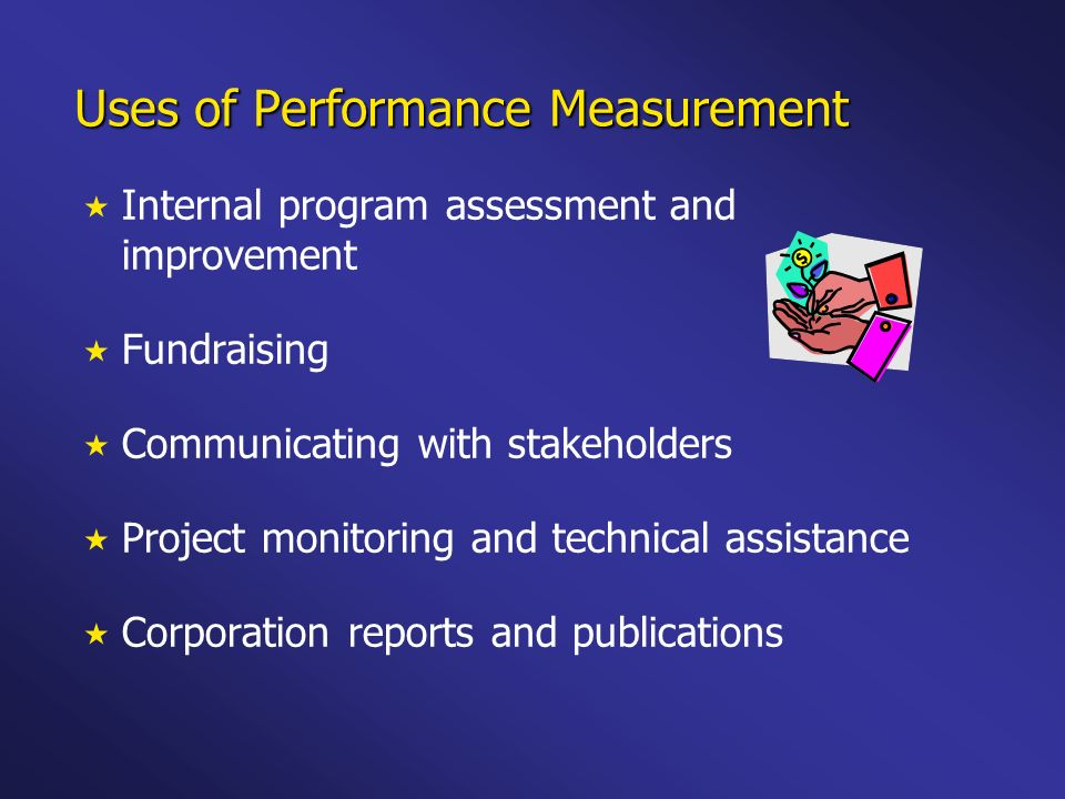 Uses of Performance Measurement