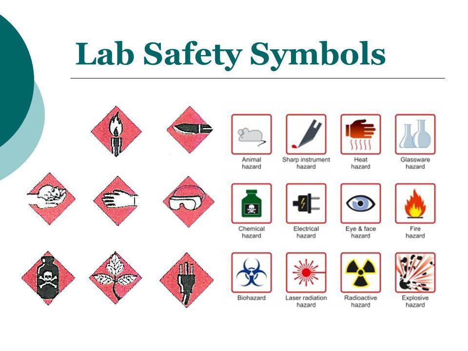 Eye Lab Safety Symbol