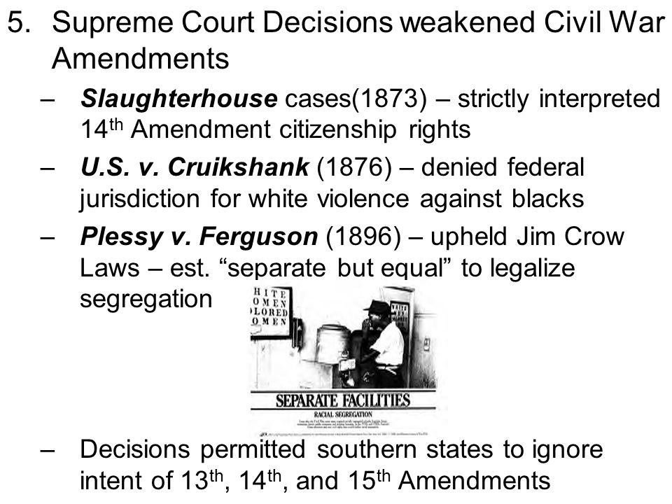 court cases dealing 14th amendment Study 1-10 amendments / 13 court cases flashcards at proprofs - the basic fun demental related flashcards (4th and 14th amendment.