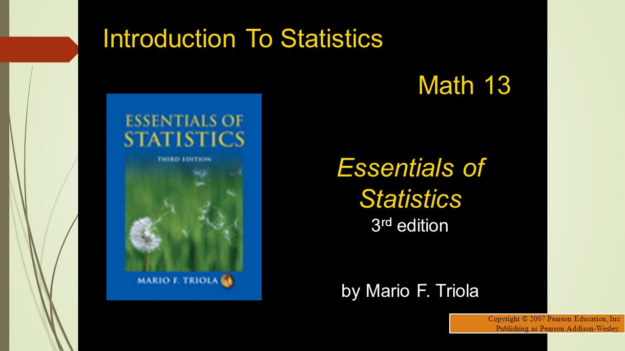 An introduction to probability and statistics, 3rd edition.