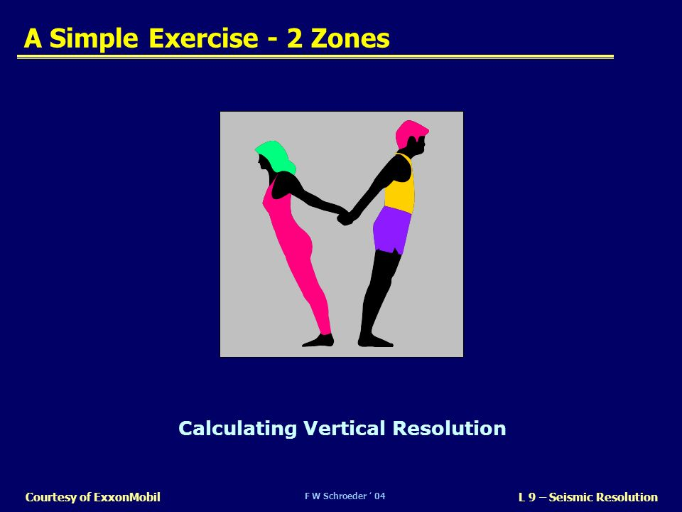 A Simple Exercise - 2 Zones