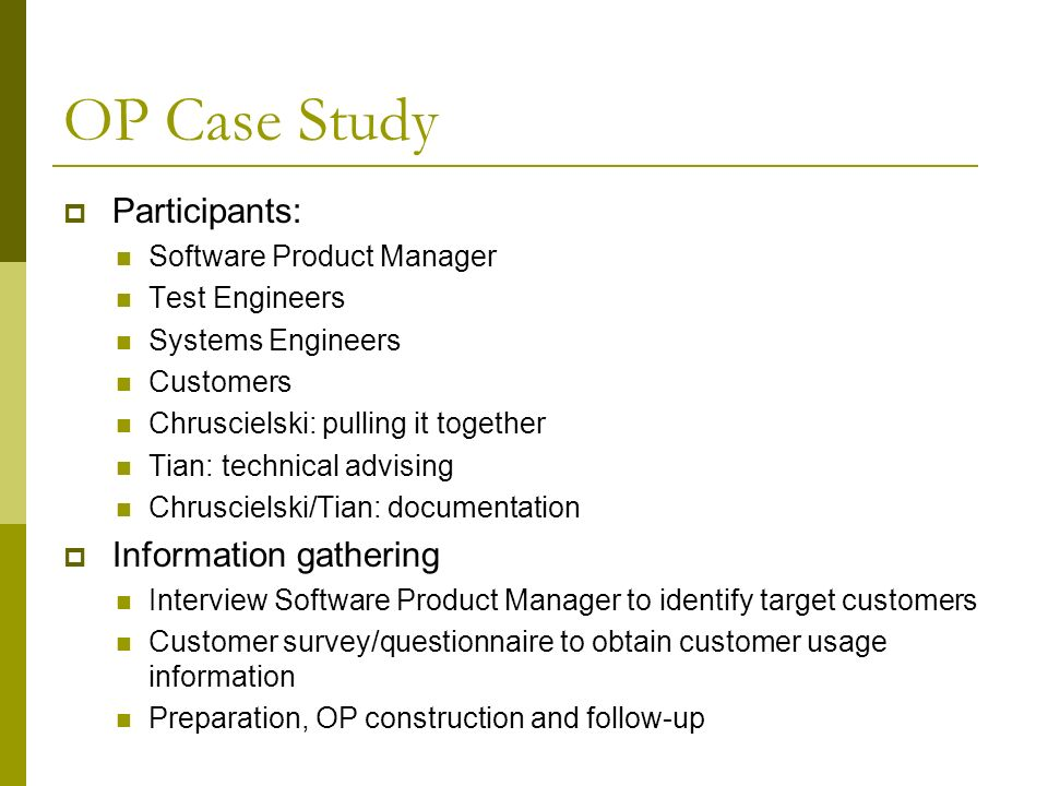 op case study Sepa case study: barc electric co-op: community solar leader in virginia we are a trusted platform for education, research and collaboration to help utilities.