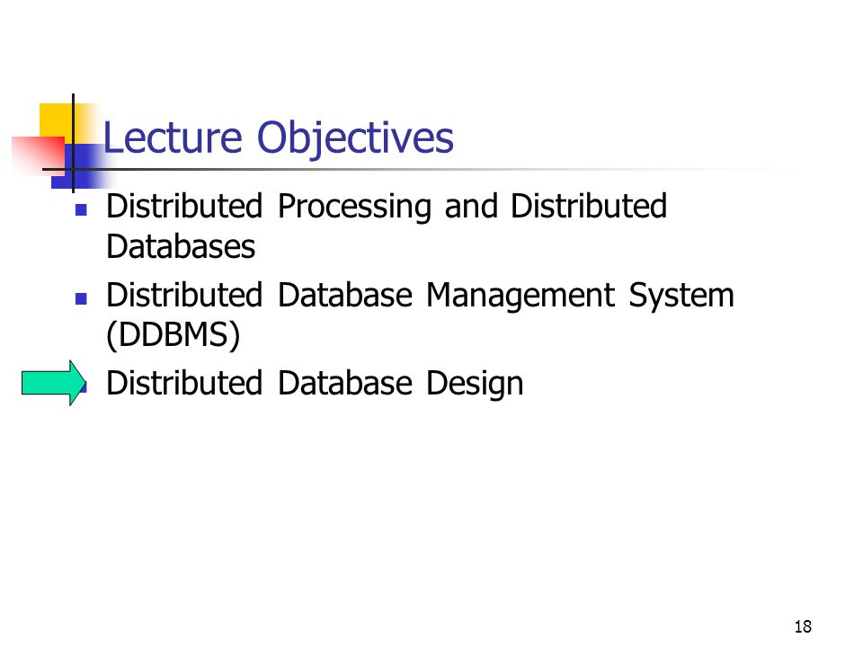 Designing A Distributed Database System