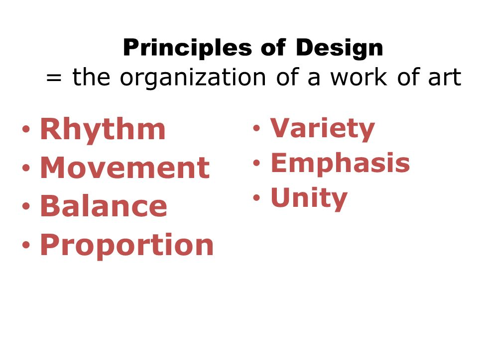Principles Of Organization Art : In this lesson you will learn about the elements of art