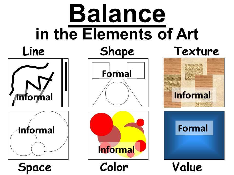 Value Balance Art Definition : In this lesson you will learn about the elements of art